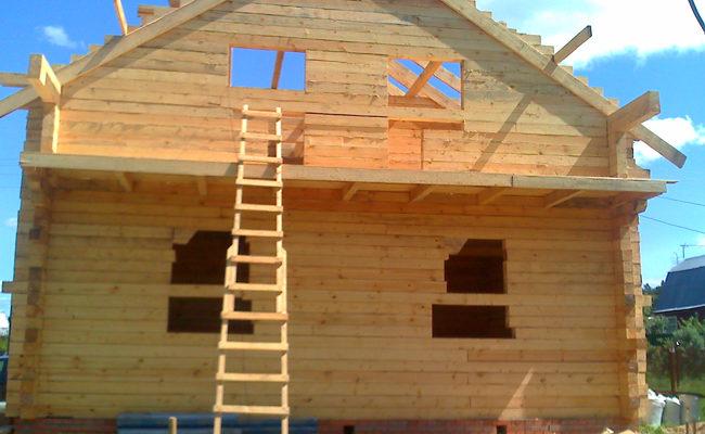 Строительство и проектирование домов из бруса