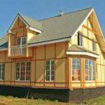 Теплый дом из SIP-панелей