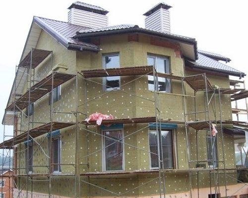 Утепление фасада кирпичного дома