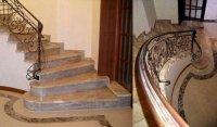 Возведение кирпичных и каменных лестниц