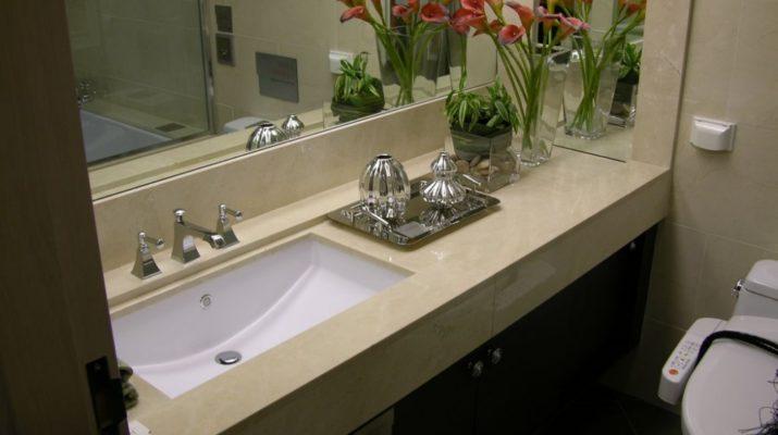 Выбор камня для ванной комнаты
