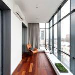 Ремонтные работы по утеплению балкона