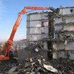 Демонтаж сооружений и кранов