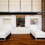 Небольшая по размеру спальня? Идеальное решение – встроенная кровать