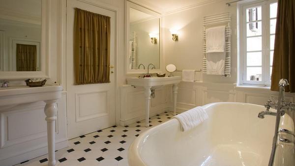 Французский интерьер ванной1