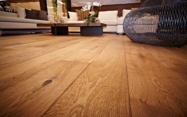 Красивый деревянный пол