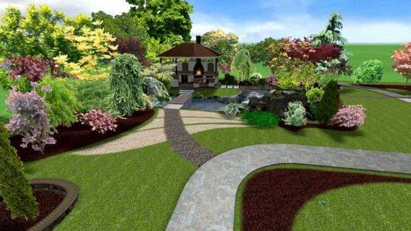 Ландшафтный дизайн1