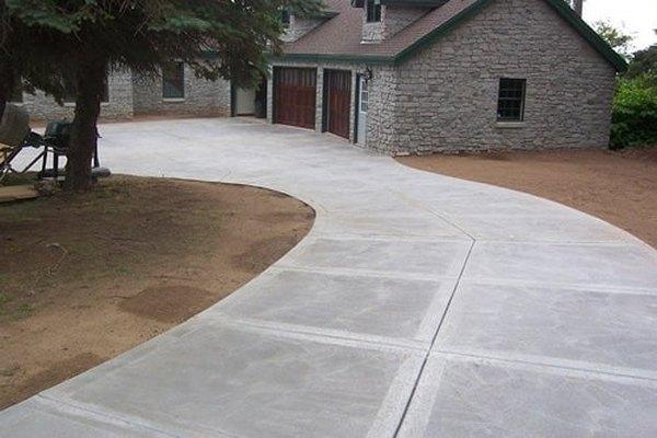 Пол для Патио из бетона