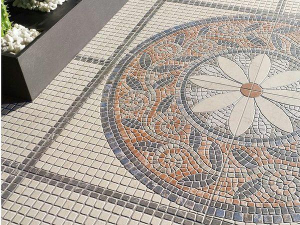 Пол для Патио из мозаичной
