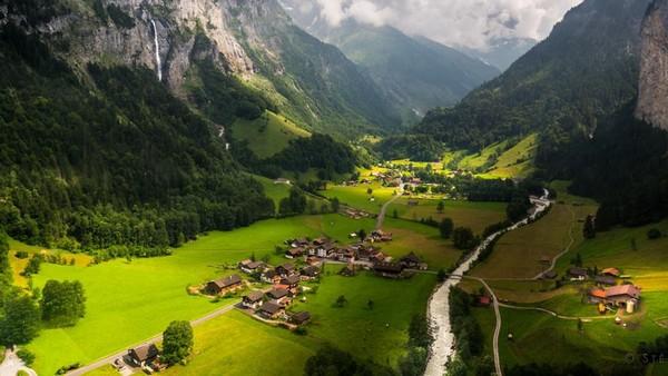 Сад в швейцарском стиле5