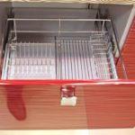 Практичные посудные сушилки для домашней кухни из стали и алюминия