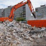 Демонтаж сооружений и вывоз мусора