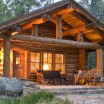 Популярный вид строительства дома из дерева