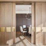 Достоинства раздвижных и складных дверей
