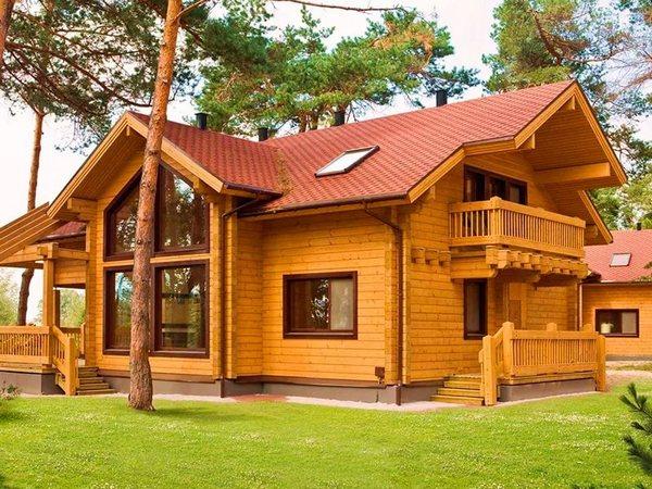 Дом из бруса1