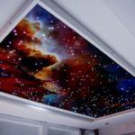 Тканевые натяжные потолки гармонично подчёркивают любой интерьер