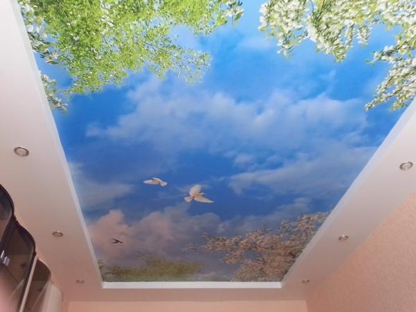 натяжной потолок4