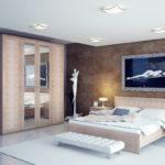 Разнообразие шкафов купе для спальни