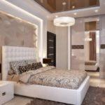 Идеи дизайна спальной комнаты при ремонте в СПб