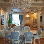 Стиль барокко в интерьере. Мебель Италии.