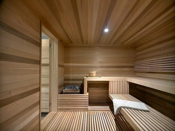 Внутренняя отделка парной бани от компании ВашДом