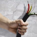 Замена электропроводки с установкой устройств защиты от импульсных перенапряжений