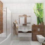 Оформление ванной комнаты в эко-стиле