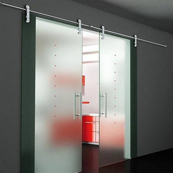 Дверные конструкции из стекла в интерьере