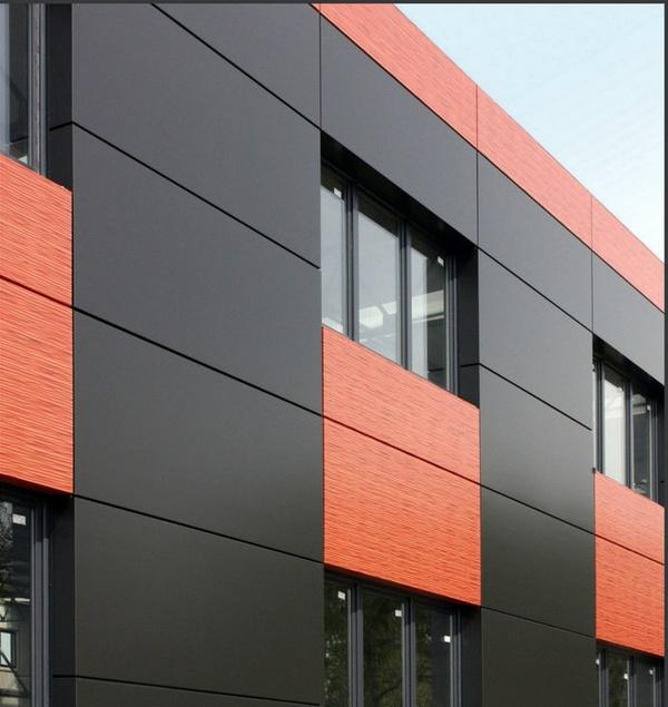 Композитные алюминиевые панели для фасада