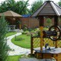 Варианты отделки колодцев на даче, фото идей